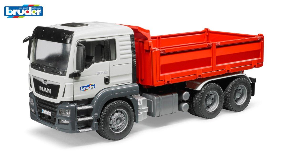 Konstrukční vozy - nákladní auto MAN TGS
