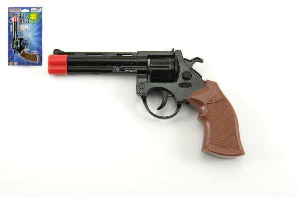 Pistole na kapsle 8 ran kov 19cm