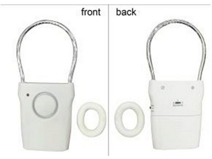 alarm domovní na dveře 6,8x13,9x2cm ABS+nerez
