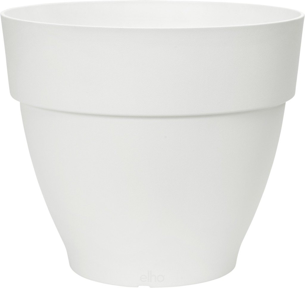 Elho květináč Vibia Campana Round - white 40 cm