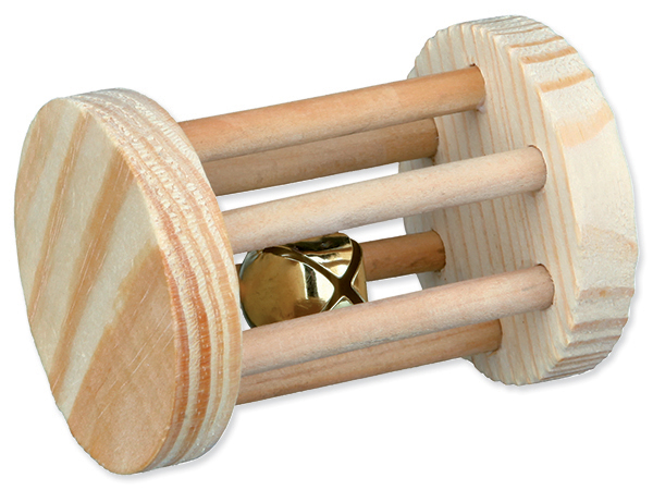 Hračka TRIXIE váleček dřevěný 7 cm (1ks)
