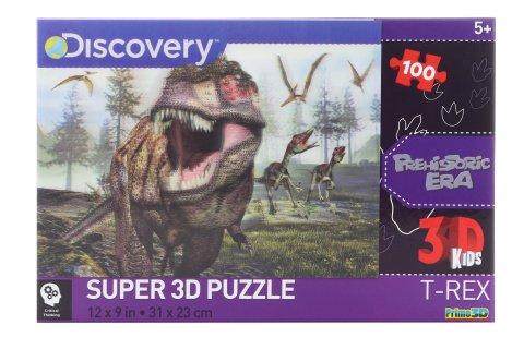 3D Puzzle T-Rex 100 dílků
