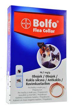 Obojek BAYER BOLFO antiparazitní pro psy a kočky 38 cm (1ks)
