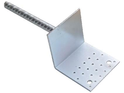 patka kotvicí do země 14-03 120x120mm BV/P Zn