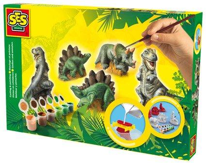 Sádrový trojkomplet - dinosauři