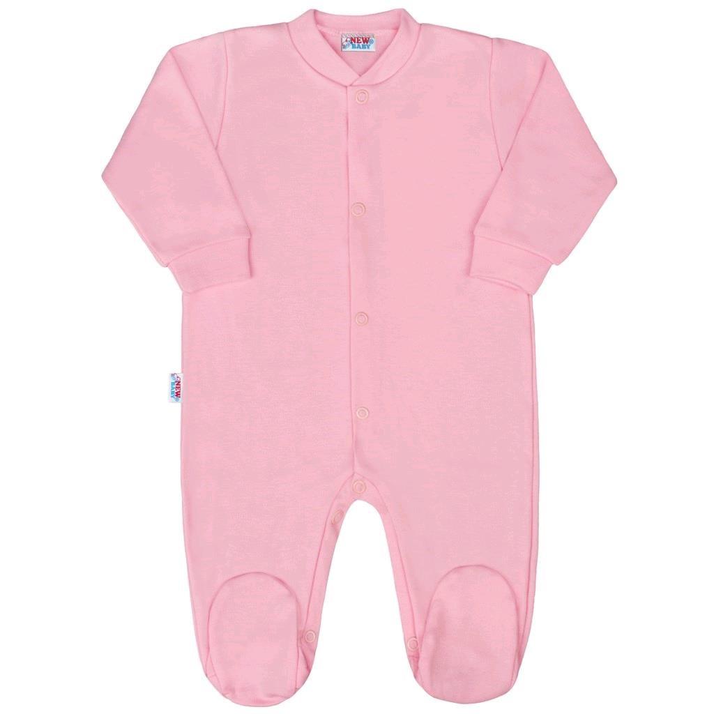 Kojenecký overal New Baby Classic II růžový - 56 (0-3m)