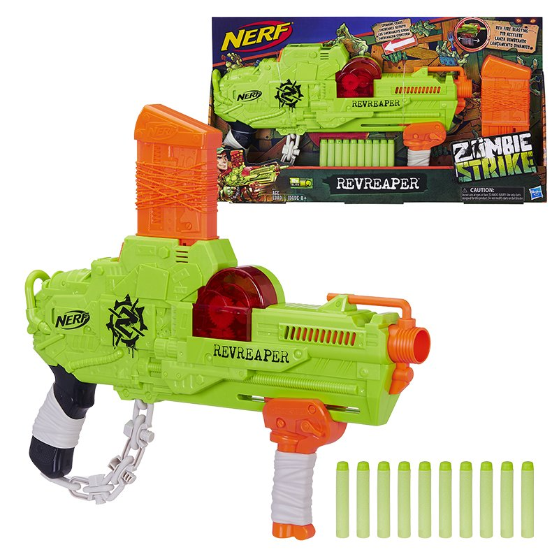 Hasbro Nerf Zombie Revreaper