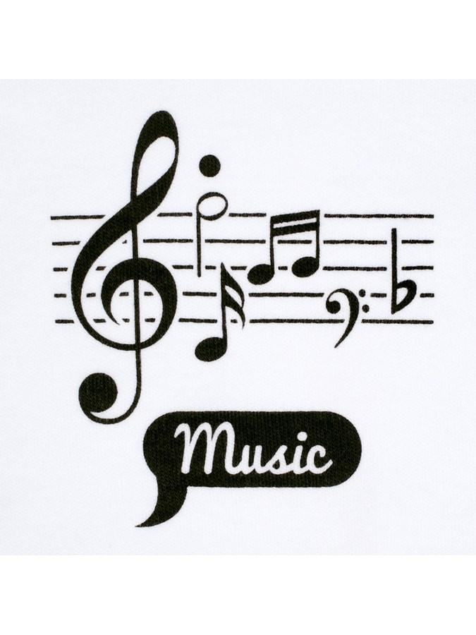 Kojenecká bavlněná košilka New Baby Music - 56 (0-3m)