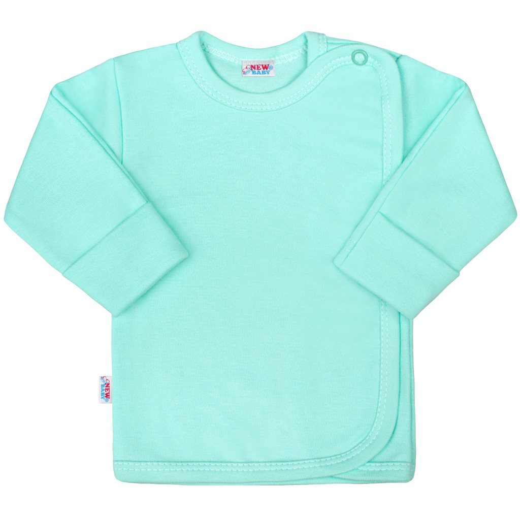 Kojenecká košilka New Baby Classic II mátová - 50