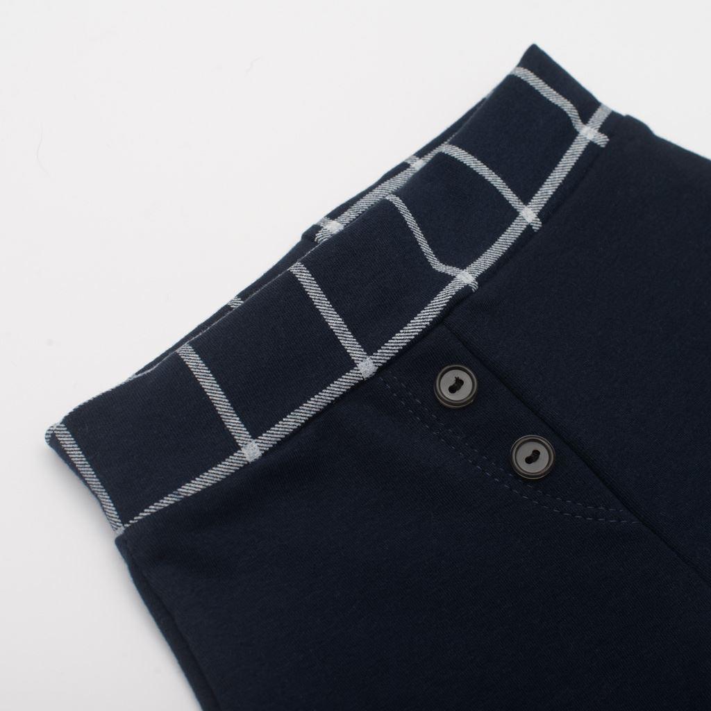 Kojenecké bavlněné tepláčky New Baby Cool tmavě modré - 62 (3-6m)