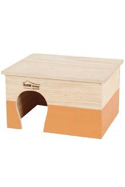 Domek pro hlodavce HOME COLOR XL oranžový Zolux