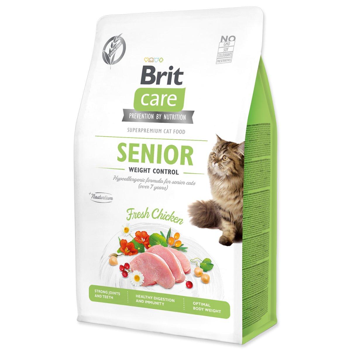 BRIT Care Cat Grain-Free Senior Weight Control (0,4kg)