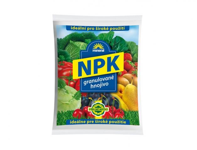 Hnojivo NPK MINERAL granulované 1kg