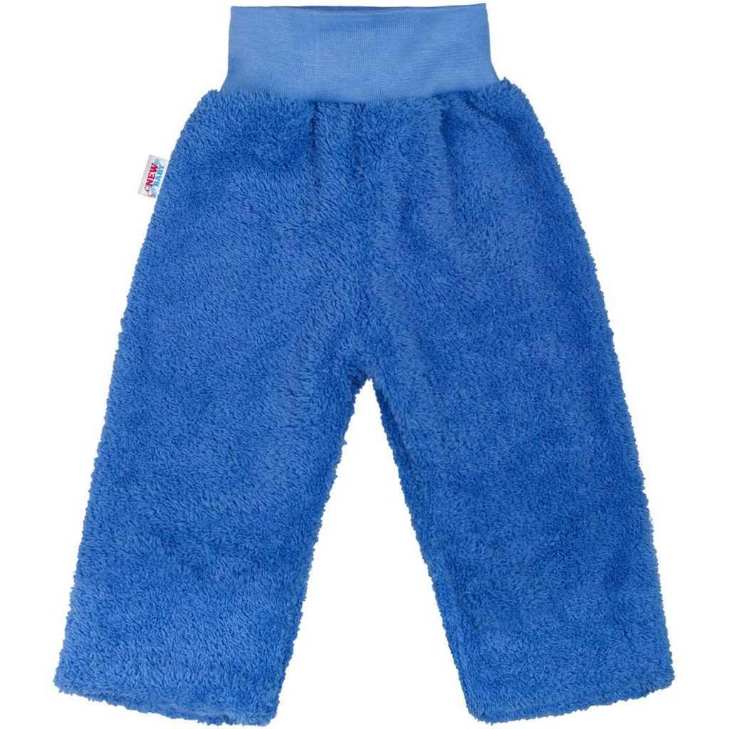 Zimní dětské tepláčky New Baby Ušáček modré - 62 (3-6m)