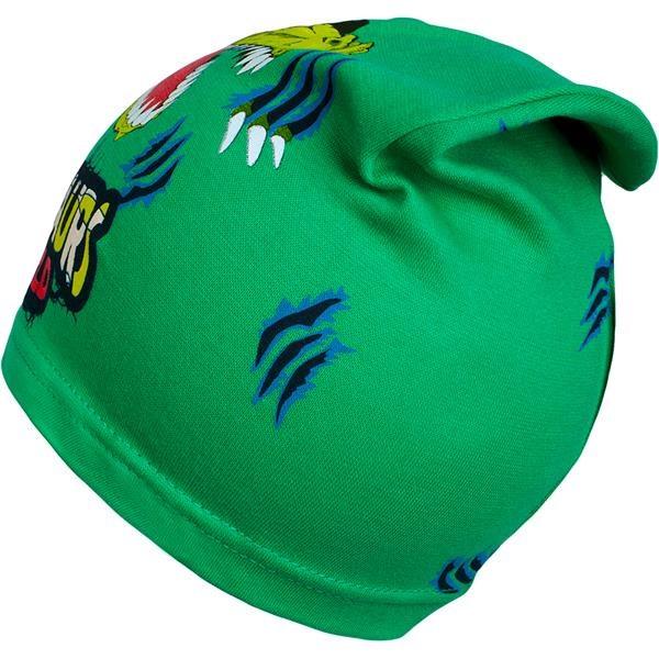 Jarní dětská čepička New Baby dino zelená - 104 (3-4r)