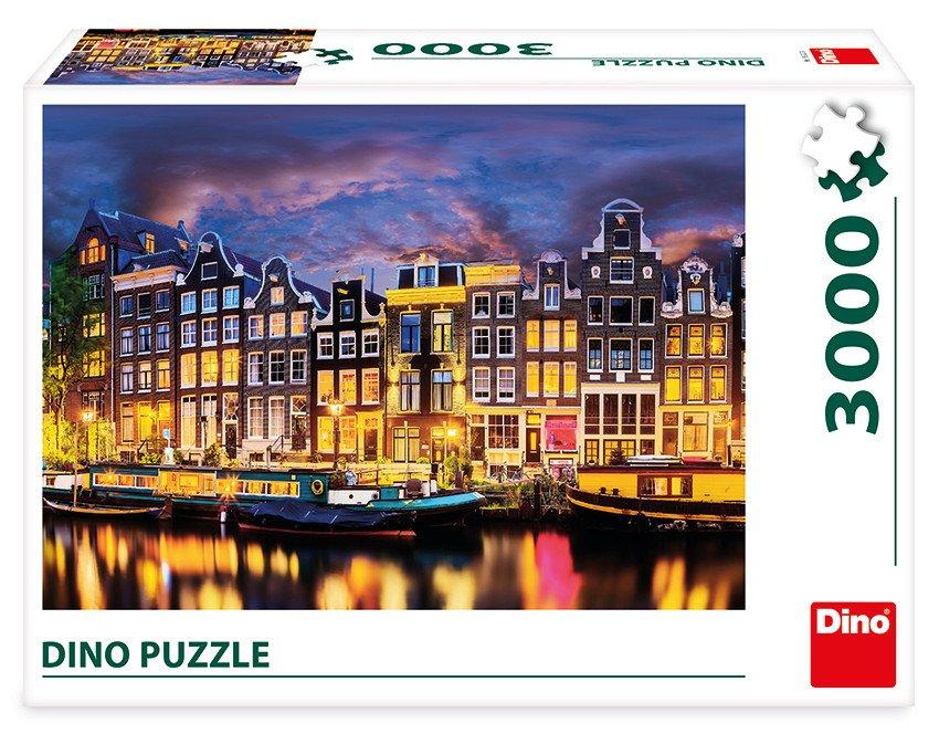 Puzzle Amsterdam 3000 dílků