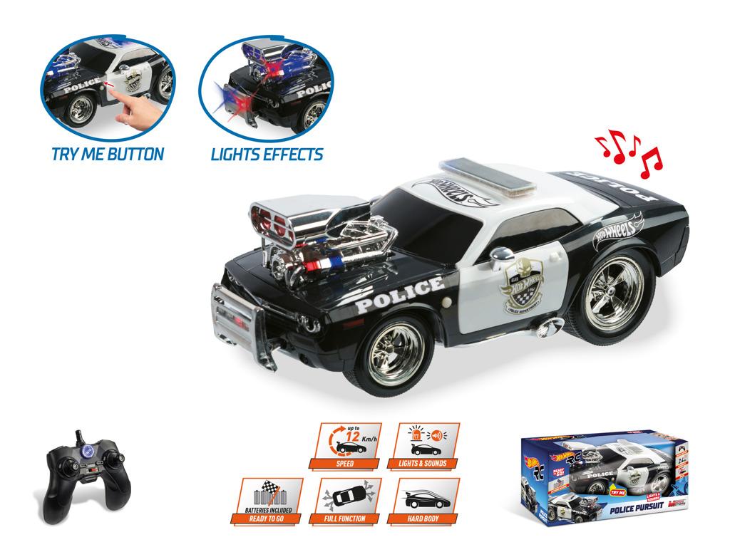 RC auto policejní Hot Wheels