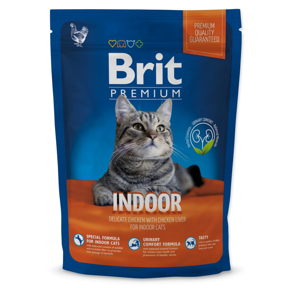 BRIT Premium Cat Indoor (800g)