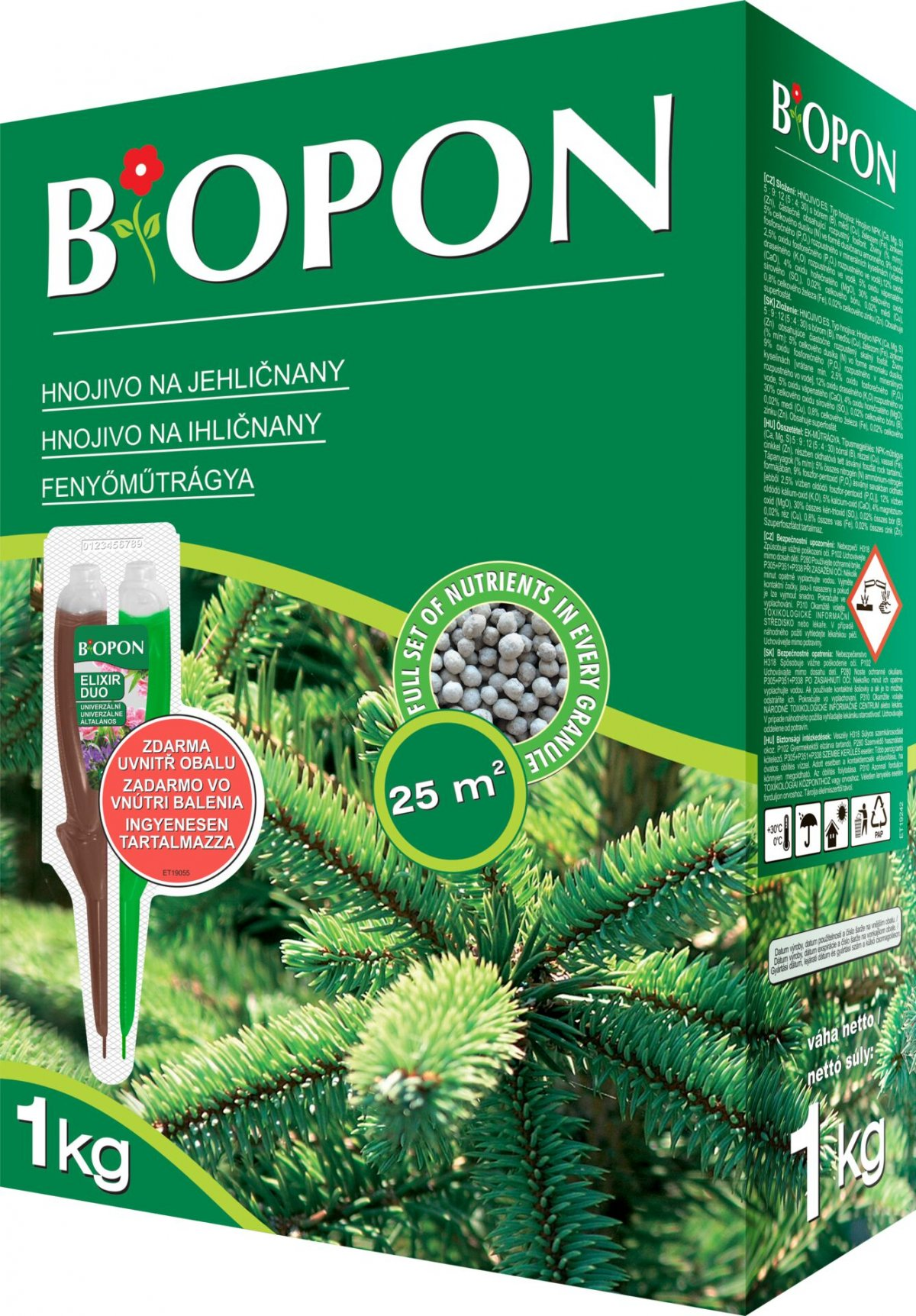 Bopon - jehličnany 1 kg