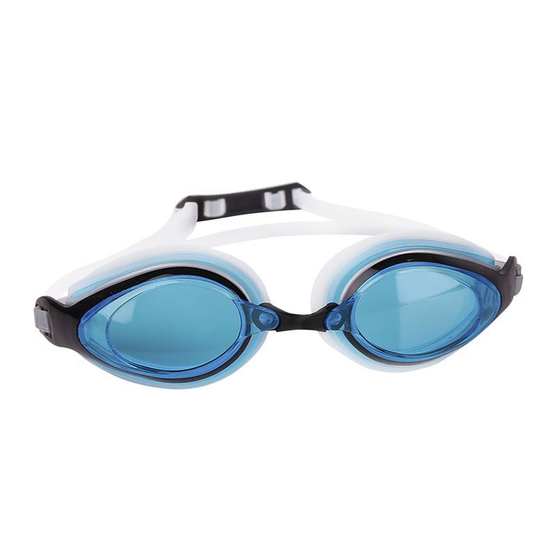 Spokey KOBRA Plavecké brýle, bílé, modré skla