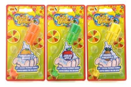 Bublifuk Frutti bubble s vůní 3 druhy