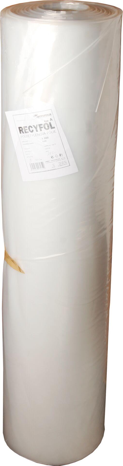 Folie hadice 1 m 0,09 - čirá (hmotnost brutto) - 30 kg