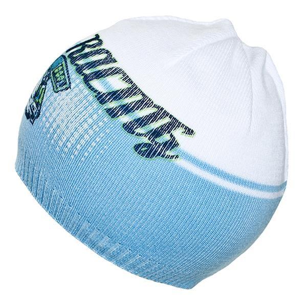 Podzimní dětská čepička New Baby Racing světle modrá - 110 (4-5r)
