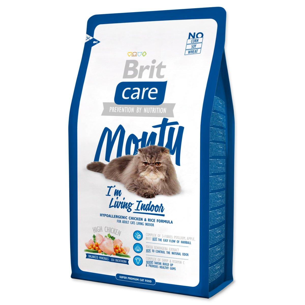 BRIT Care Cat Monty I`m Living Indoor (400g)