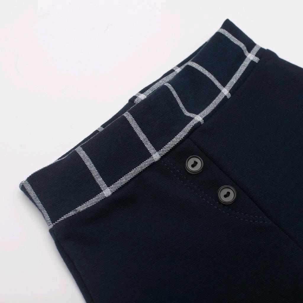 Kojenecké bavlněné tepláčky New Baby Cool tmavě modré - 80 (9-12m)