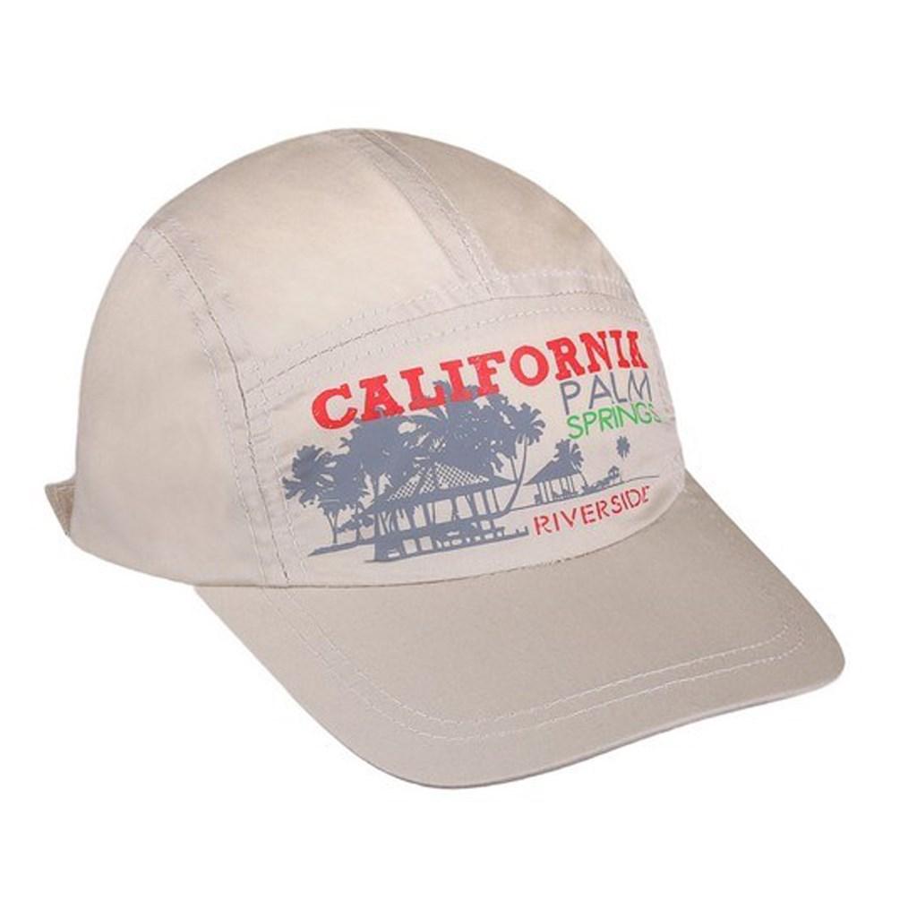 Letní dětská kšiltovka New Baby California béžová - 110 (4-5r)