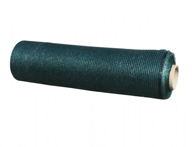 Stínovka PE 90% s oky zelená 1,5x50m