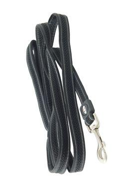 Vodítko BUSTER Airmesh reflexní S/M 180cm/20mm černé