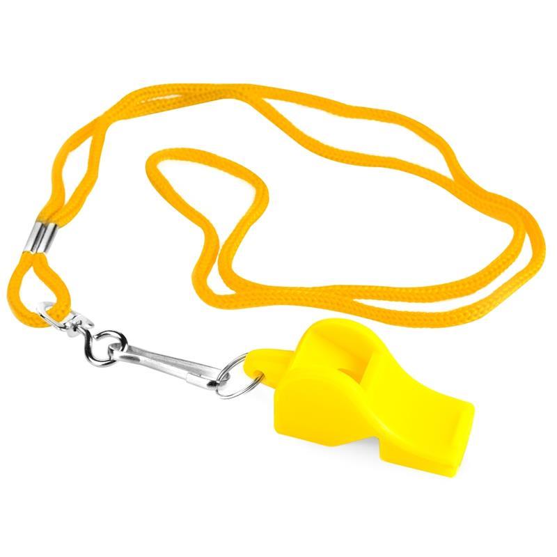 Spokey Mayday píšťalka plastová žlutá