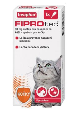BEAPHAR Spot on Fiprotec pro kočky (1ks)