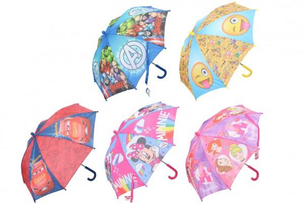 Deštník 55cm 5 druhů
