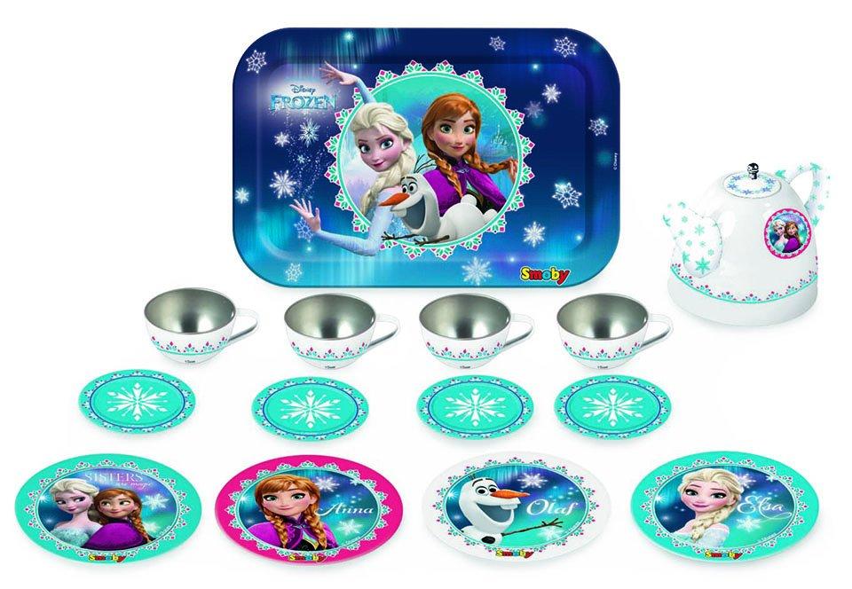 SMOBY Frozen Čajový set kovový