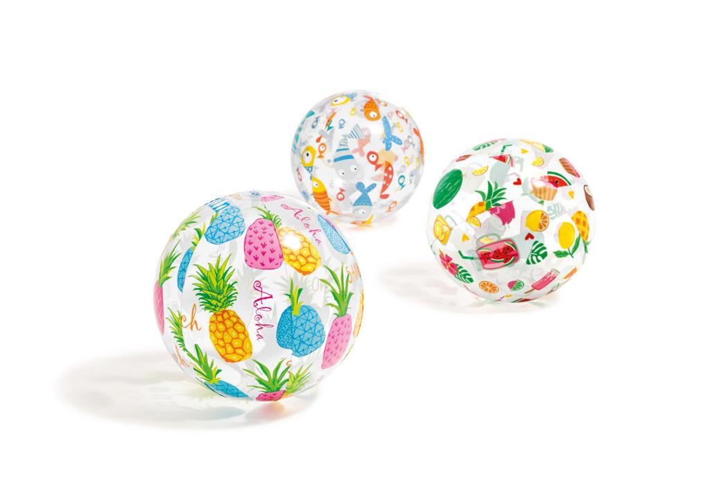 Nafukovacia lopta farebná