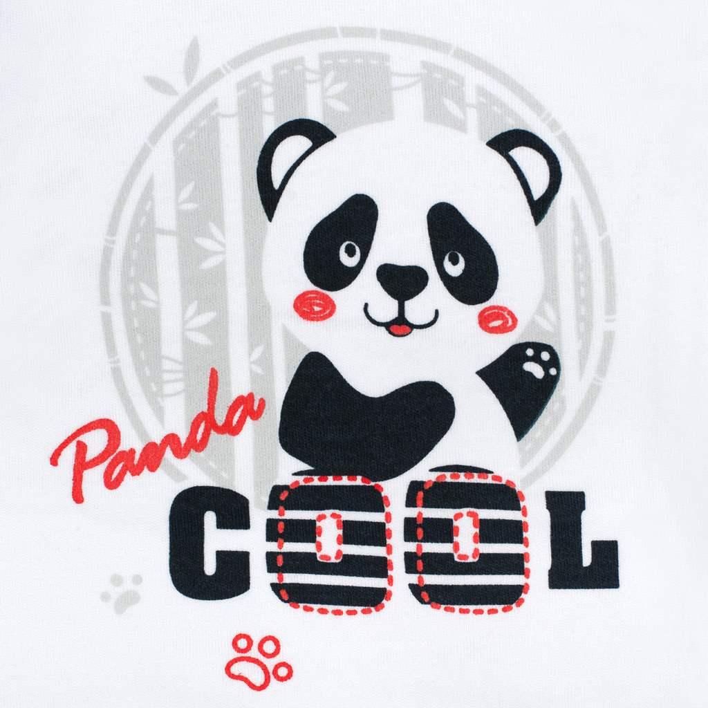 Kojenecká košilka New Baby Panda - 56 (0-3m)