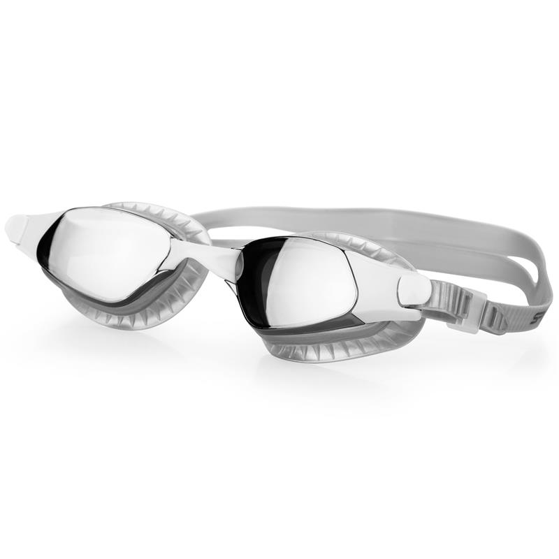 Spokey ERISK Plavecké brýle, stříbrné