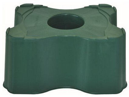 podstavec pod sud hranatý na dešť. vodu 200l, 300l, v.33cm plastový