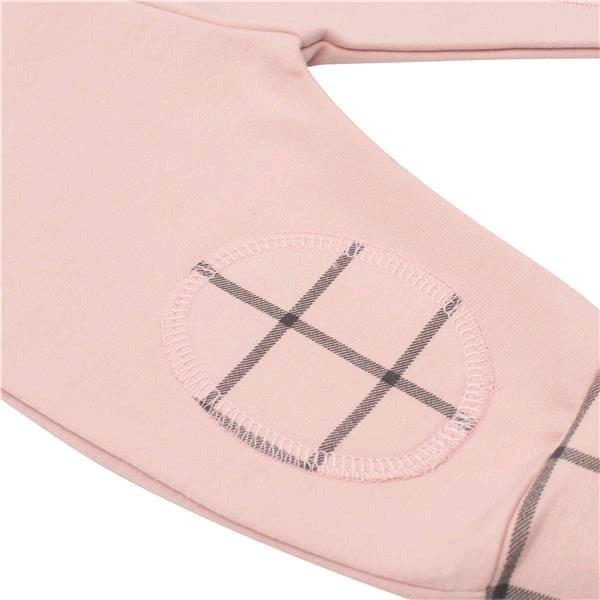 Kojenecké bavlněné tepláčky New Baby Cool růžové - 68 (4-6m)