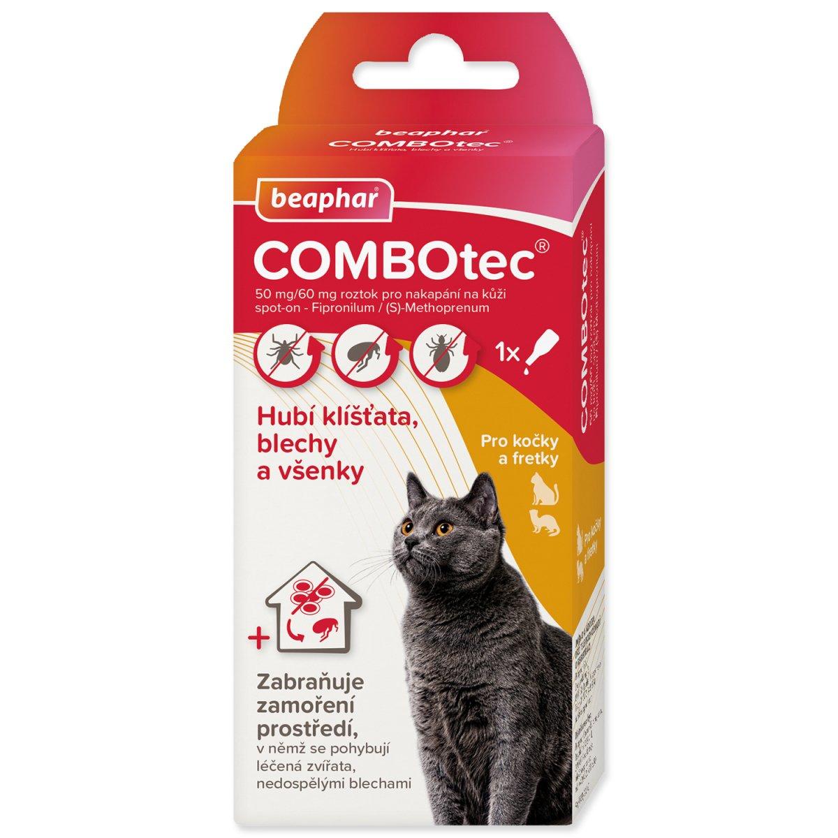 Spot On BEAPHAR COMBOtec pro kočky a fretky (0,5ml)