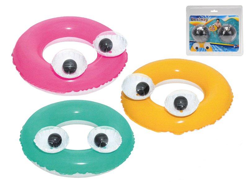 Nafukovací kruh - oči, průměr 61cm
