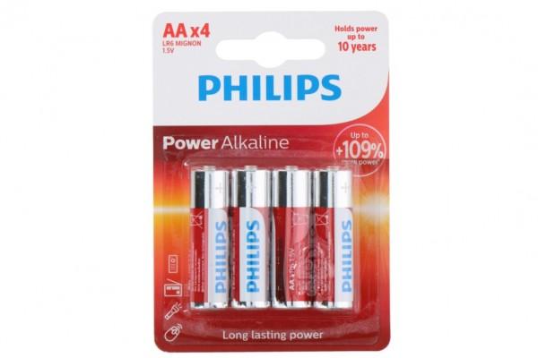 Baterie Philips AA(LR6) 1,5V Alkaline