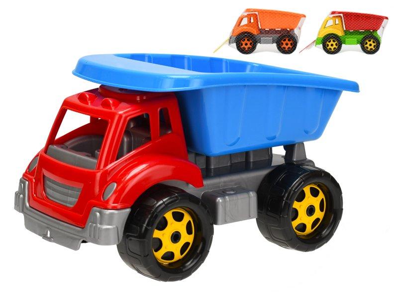 Auto stavební sklápěčka 30 cm - mix barev