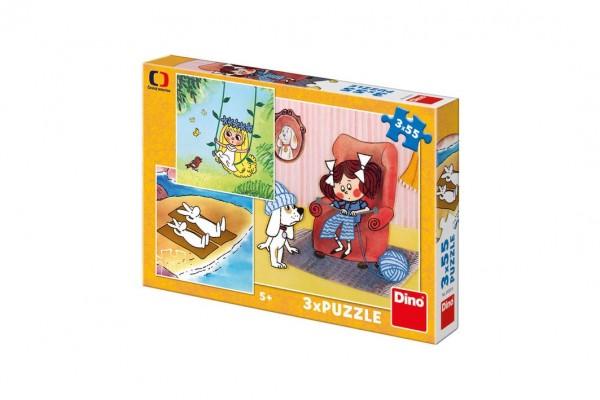 Puzzle Moje Pohádky 3x55 dílků